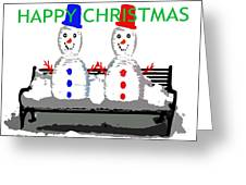 Happy Christmas 116 Greeting Card