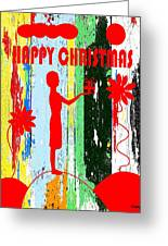Happy Christmas 14 Greeting Card