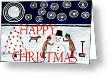 Happy Christmas 29 Greeting Card