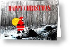 Happy Christmas 60 Greeting Card