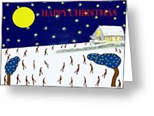 Happy Christmas 27 Greeting Card