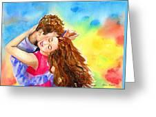 Happy Dance Greeting Card