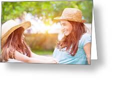 Happy Family Life Greeting Card