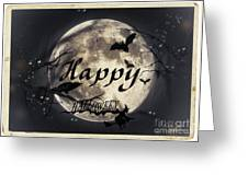 Happy Halloween Greeting Card by Chris Armytage