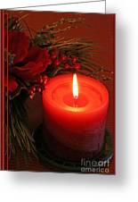 Happy Holidays #1 Greeting Card by Teresa Zieba