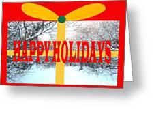 Happy Holidays 21 Greeting Card