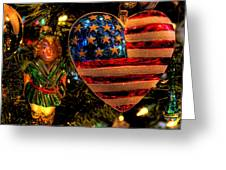 Happy Holidays To All My Faa Friends Greeting Card