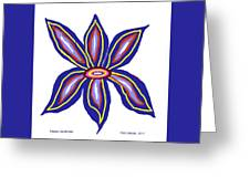 Happy Lily Bloom Greeting Card