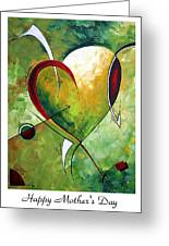 Happy Mother's Day By Madart Greeting Card