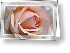 Happy Mother's Day Soft Rose Greeting Card