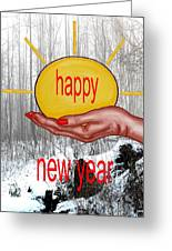 Happy New Year 22 Greeting Card