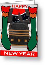 Happy New Year 8 Greeting Card by Patrick J Murphy