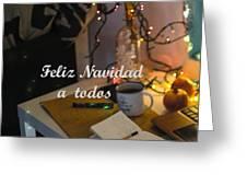 Happy New Year Holidays Greeting Card