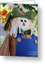 Happy Scarecrow Greeting Card