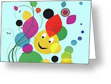Happy Spring Image Greeting Card
