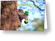 Happy St. Pat's Day Card Greeting Card
