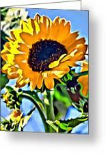 Happy Sunflower Greeting Card