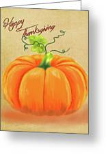 Happy Thanksgiving Greeting Card Greeting Card