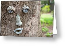 Happy Tree Greeting Card