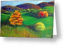 Happy Valley Hills Greeting Card