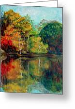 Happy Valley Pond Greeting Card