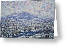 Happy Winter. Greeting Card