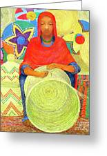 Harar Lady 2 Greeting Card