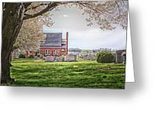 Harbaugh Church In The Spring Greeting Card