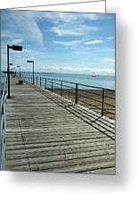 Harbor Beach Lake Huron Michigan Greeting Card