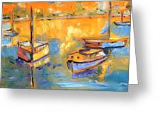 Harbor Day Greeting Card