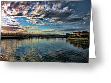 Harbor Delight Greeting Card