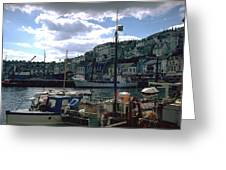 Harbor II Greeting Card