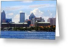 Harbor Island Florida Greeting Card