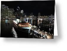 Harbor Lights Greeting Card