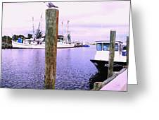 Harbor Master Greeting Card