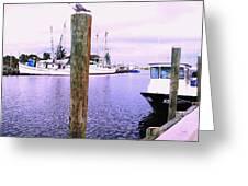 Harbor Master Greeting Card