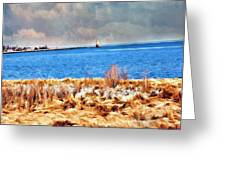 Harbor Of Tranquility Greeting Card