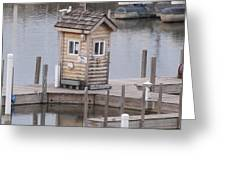Harbor Shack Greeting Card