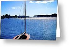 Harbor View 2 Greeting Card