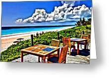 Harbour Island Greeting Card