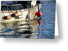 Harbour Reflections 3 - June 2015 Greeting Card