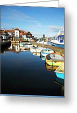 Harbour Side  Greeting Card