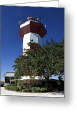 Harbourtown Lighthouse Greeting Card