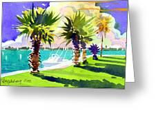 Harbourwalk Greeting Card