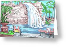 Hard Rock Casino Hotel, Fl. Greeting Card