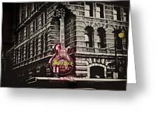 Hard Rock Philly Greeting Card