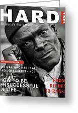 Hard Times Magazine Greeting Card