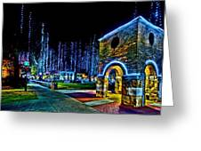 Harding Christmas Bell Tower Greeting Card