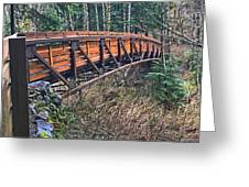 Hardy Creek Bridge Greeting Card