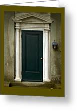 Harkness Doorway Greeting Card